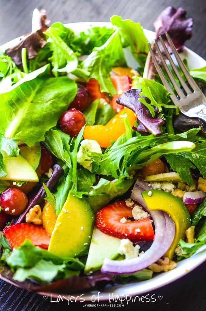 The Best Summer Chopped Salad