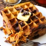 healthy-pumpkin-chocolate-chip-waffles-10