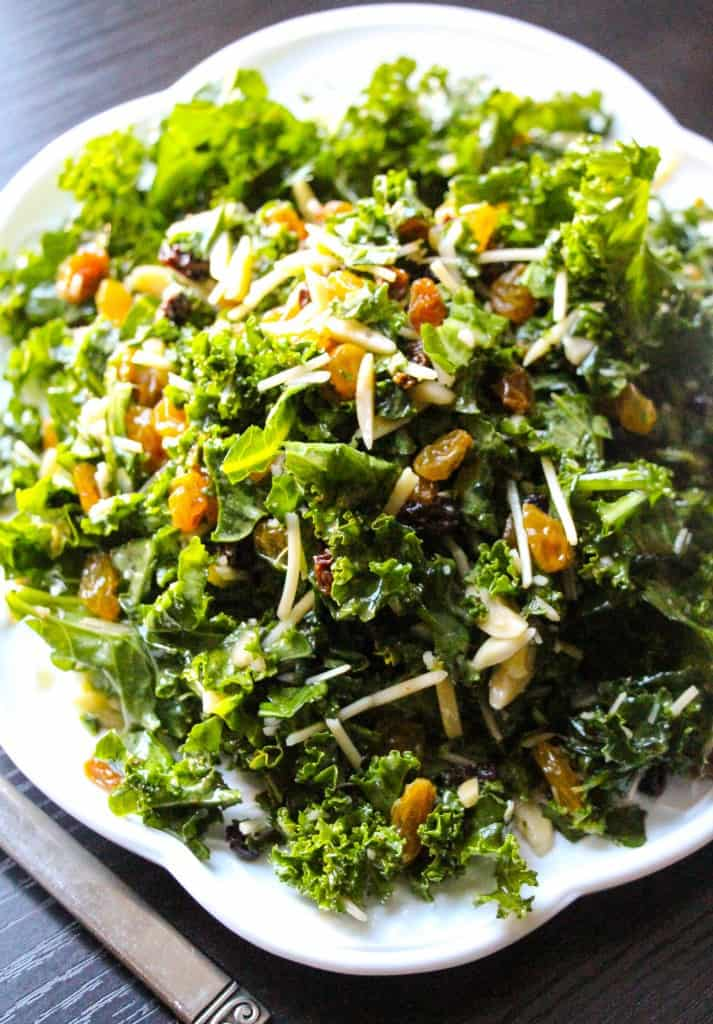 ... kale salad ever. Bonus: it will convert almost ANYONE into a kale