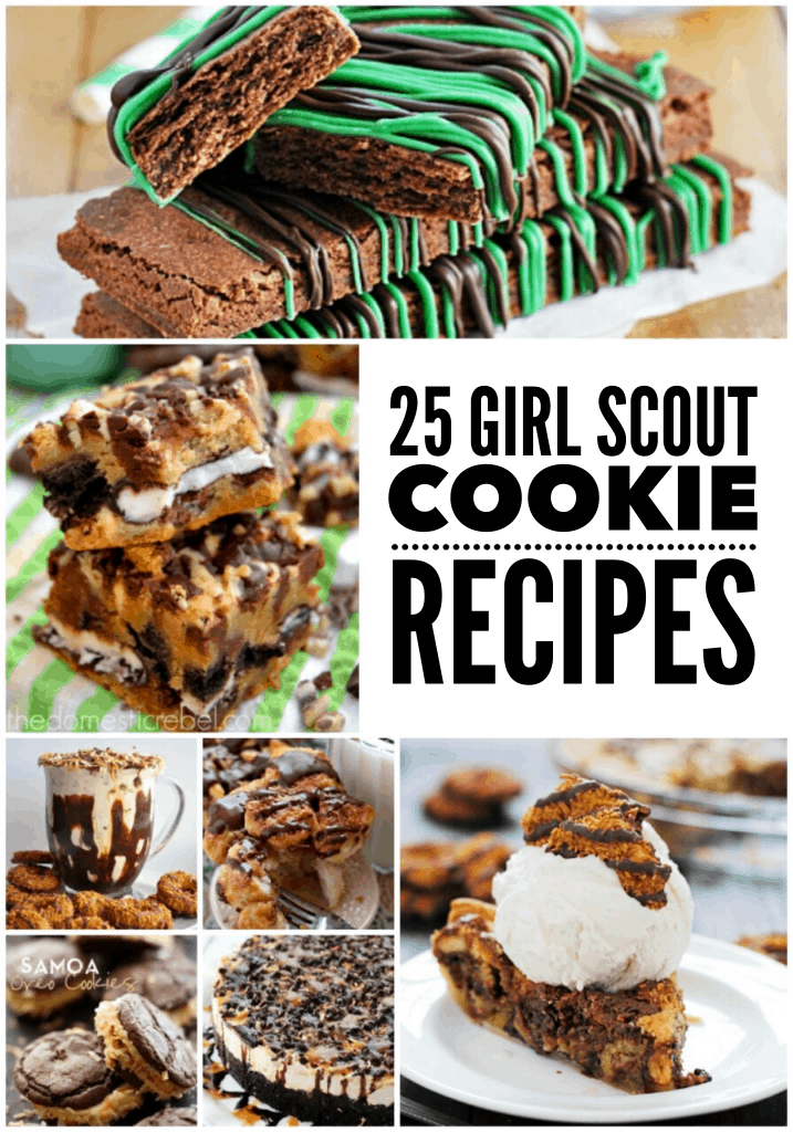 girl-scout-cookie recipes