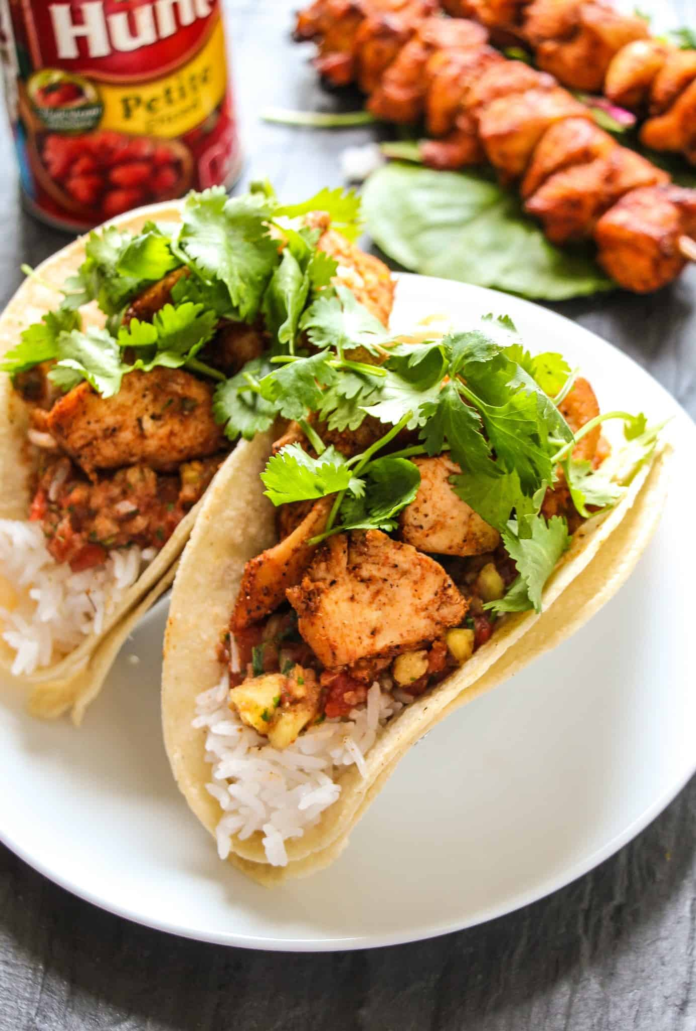 Orange Glazed Cajun Salmon Tacos (My Favorite Tacos Ever) - Layers of ...