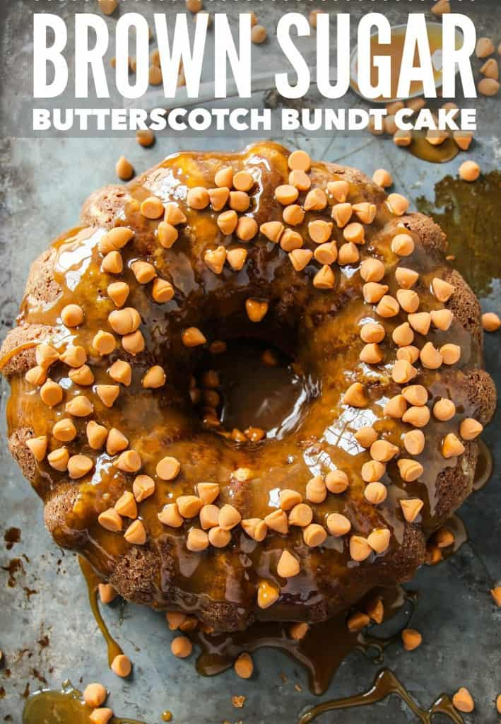 Brown Sugar Butterscotch Bundt Cake Layers Of Happiness