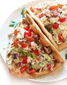 Easy greek chicken pita recipes