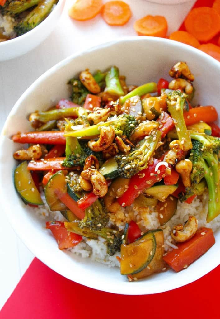honey-ginger-pineapple-veggie-stir-fry