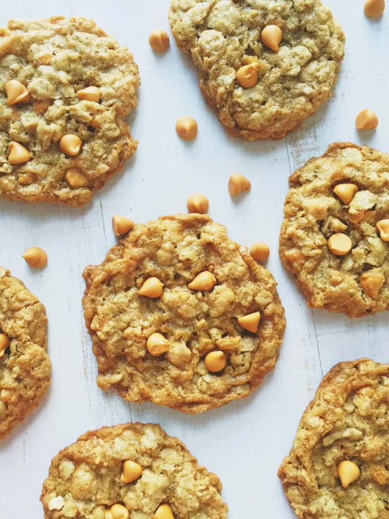 Oatmeal Butterscotch Chip Cookie 2