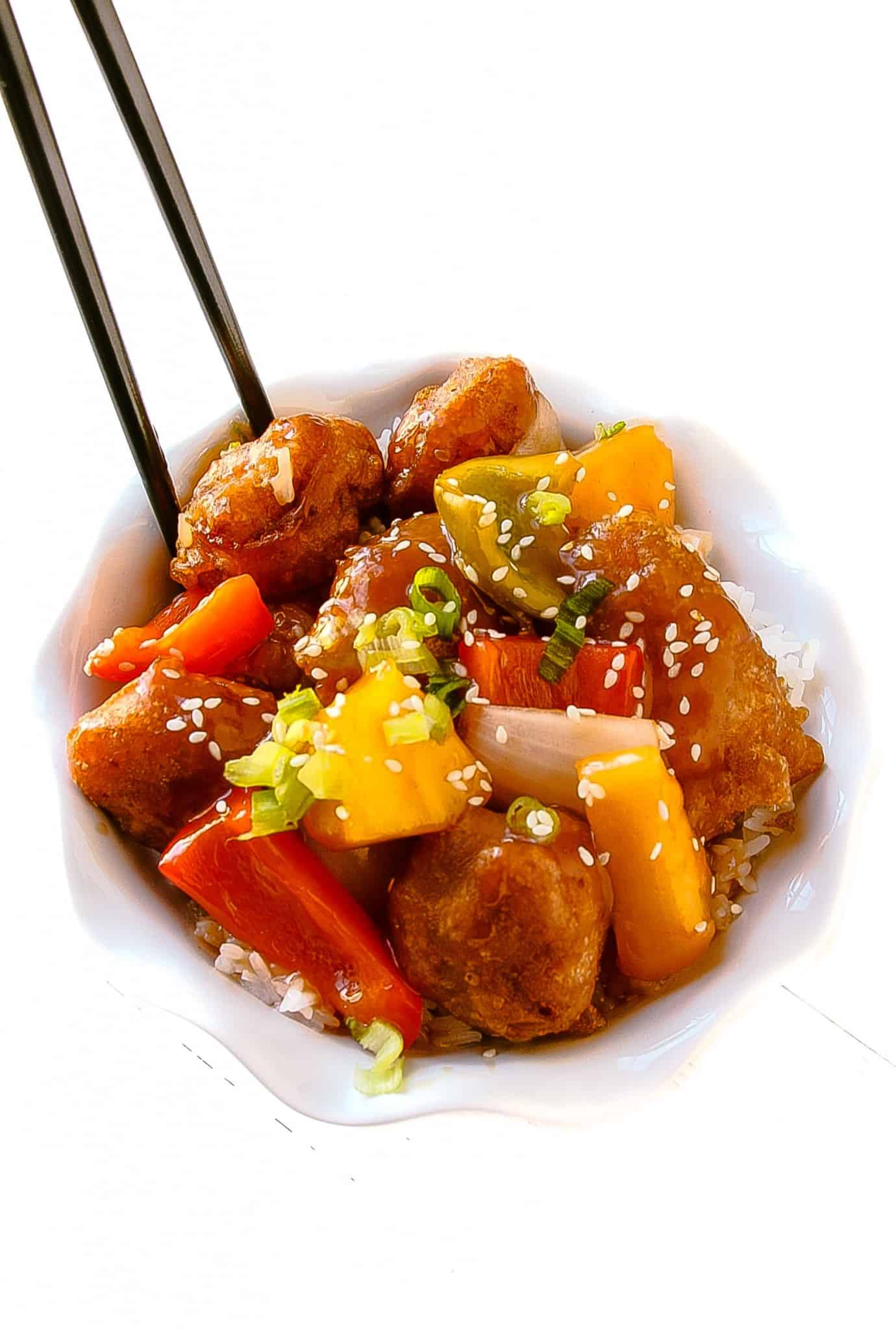 kip take-out with this easy-to-make homemade sweet and sour chicken ...