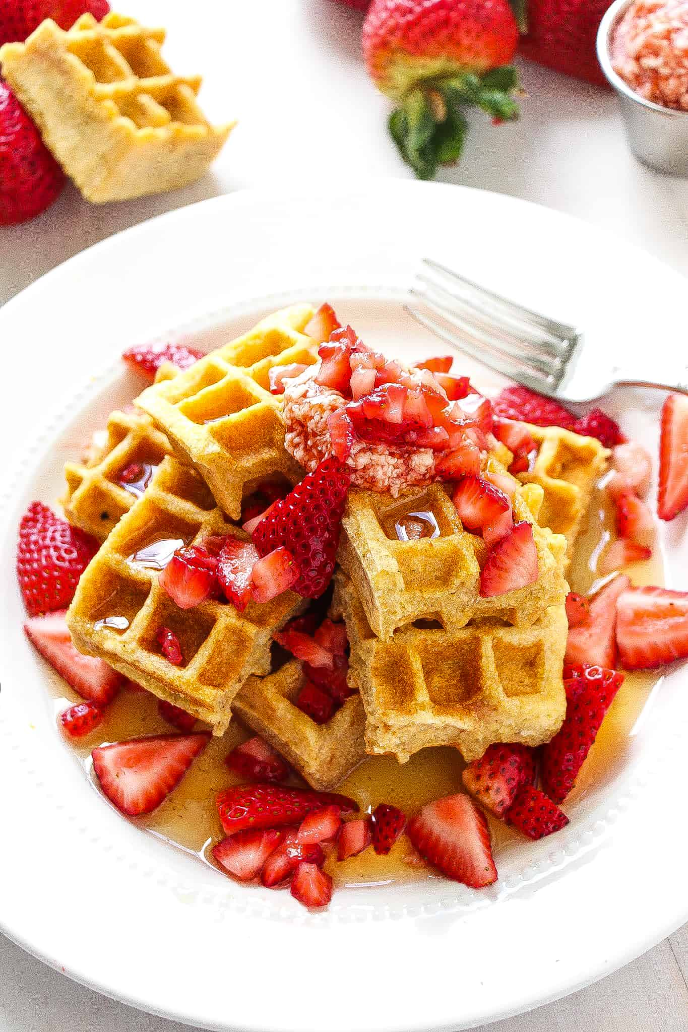 STRAWBERRY-JAM-WAFFLES