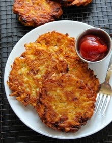how to cook serve hash browns from dehydrated dried hasbrowns