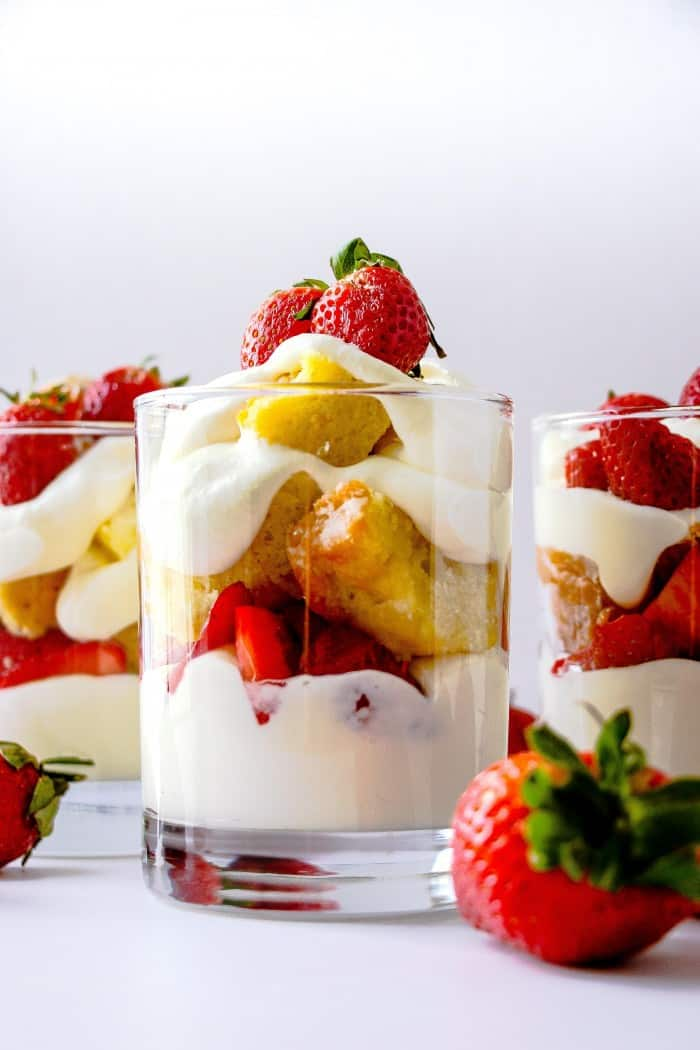 Strawberry Shortcake Parfaits Layers Of Happiness