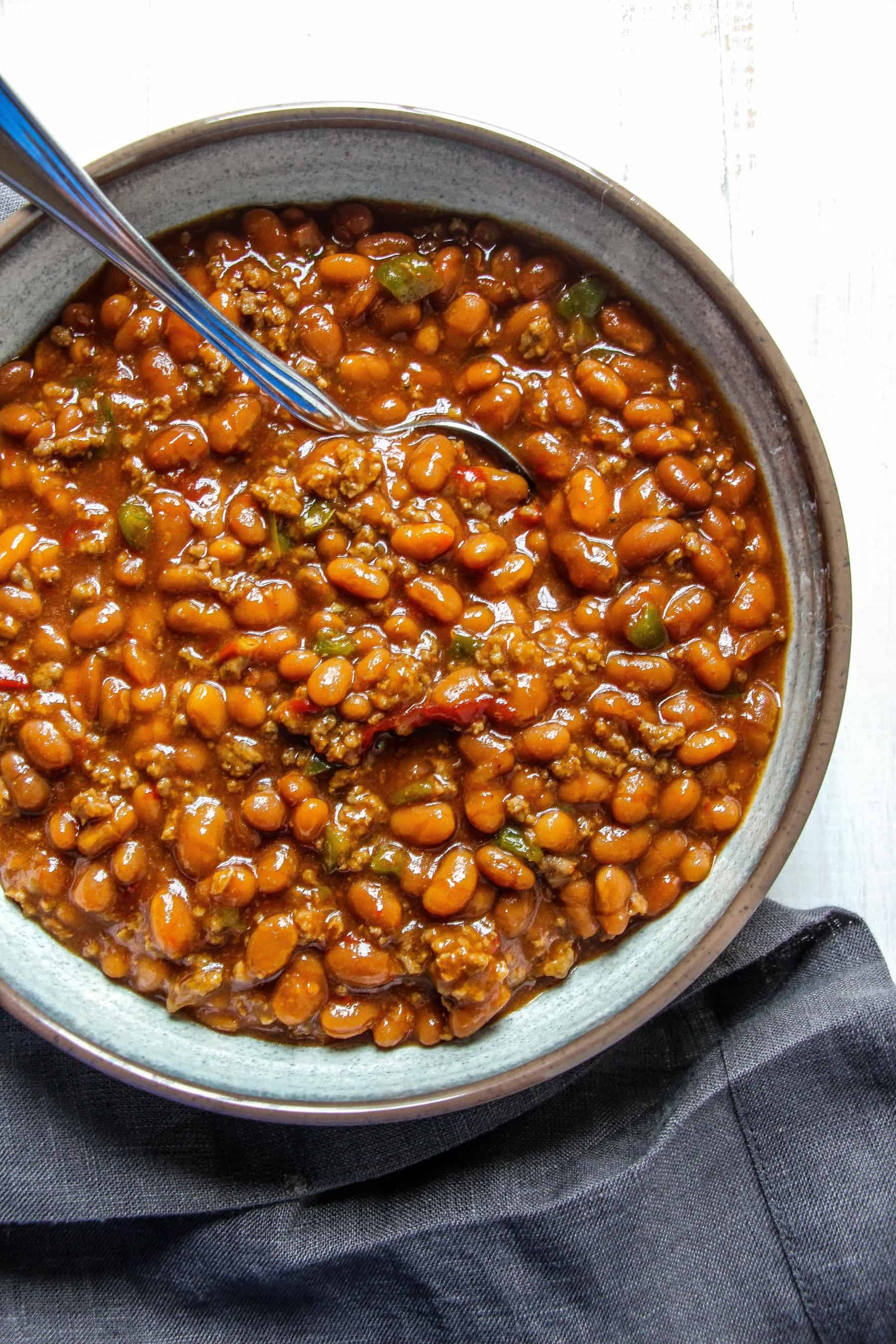 maple baked beans baked beans in the crock pot bark s baked beans ...
