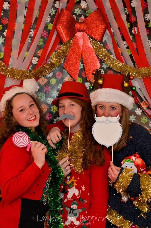 Tacky Sweater Photo Booth