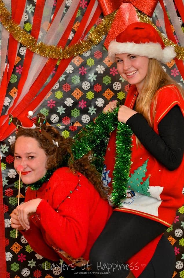 Christmas Tacky Sweater Photo Booth