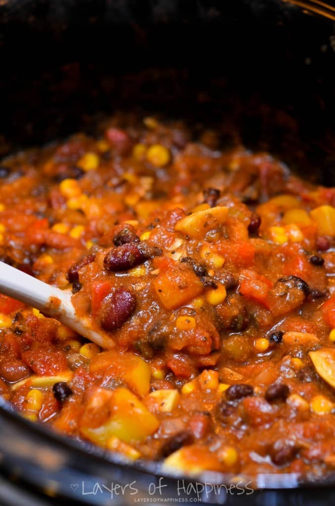 VEGGIE CHILI 5
