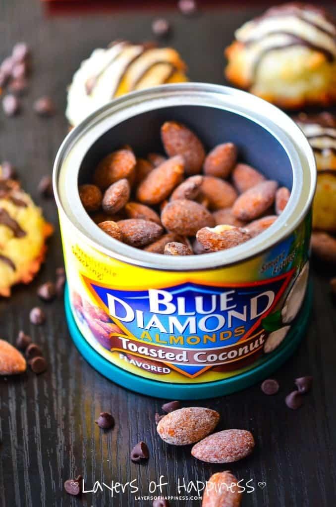 Blue Diamond Coconut Almonds