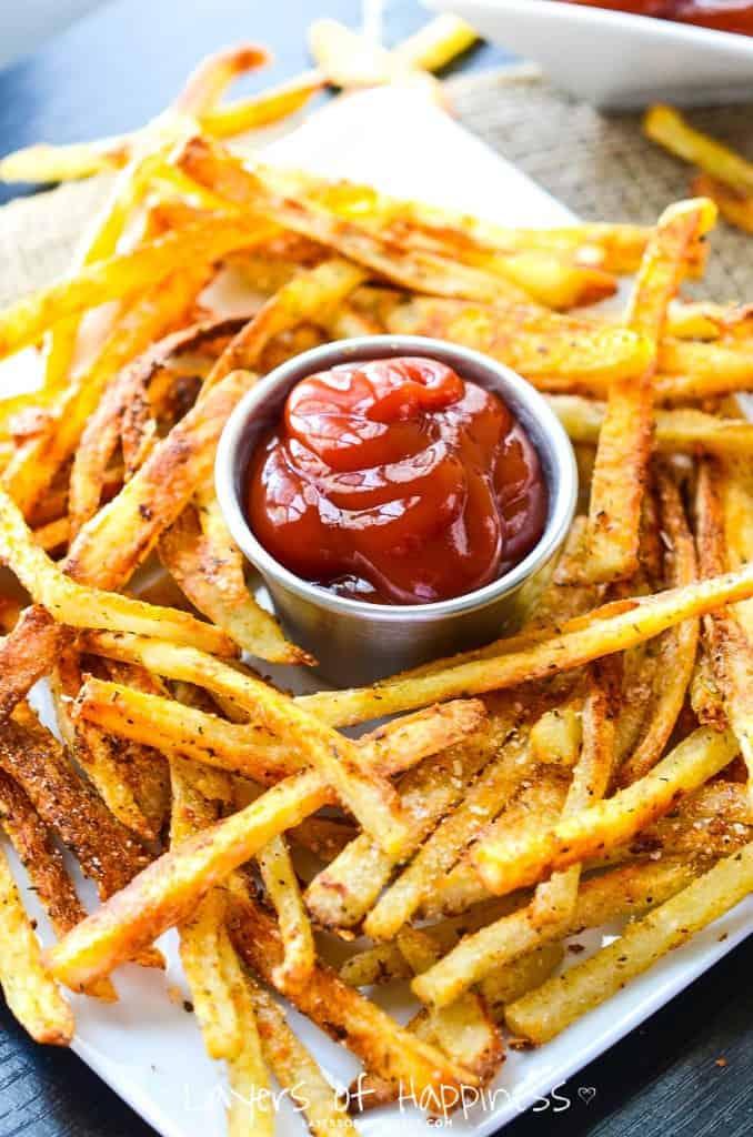 Crispy Parmesan French Fries