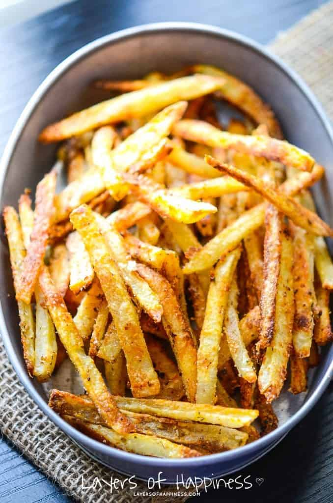 Extra Crispy Parmesan Fries