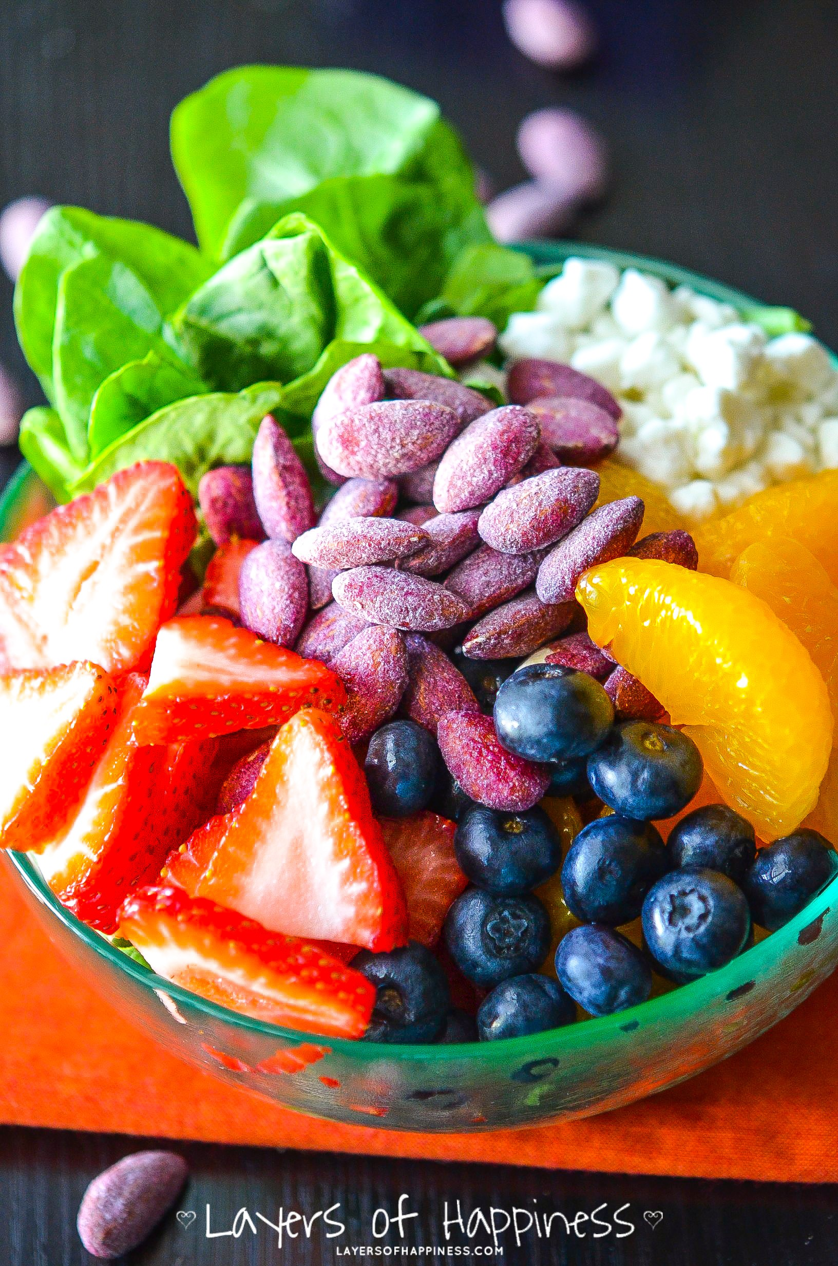 Fruit and Nut Summer Salad