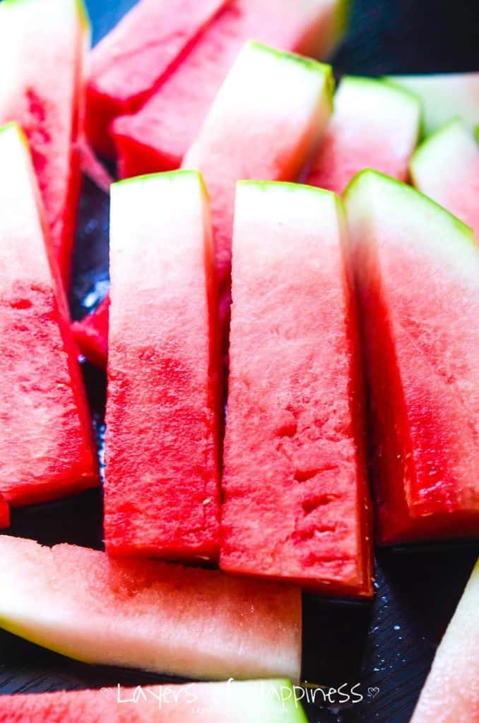 How to Perfectly Cut Watermelon Strips