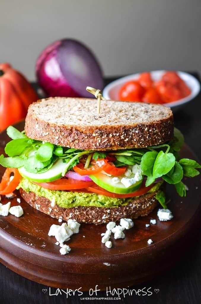 My favorite veggie Sandwich