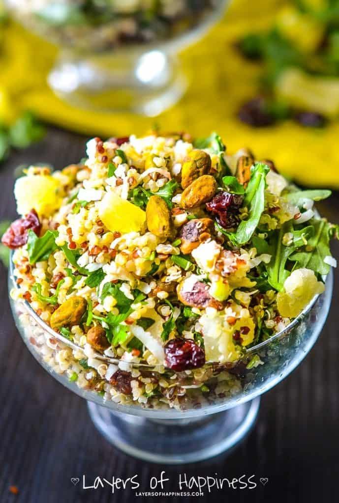 Pineapple Chicken Quinoa Salad