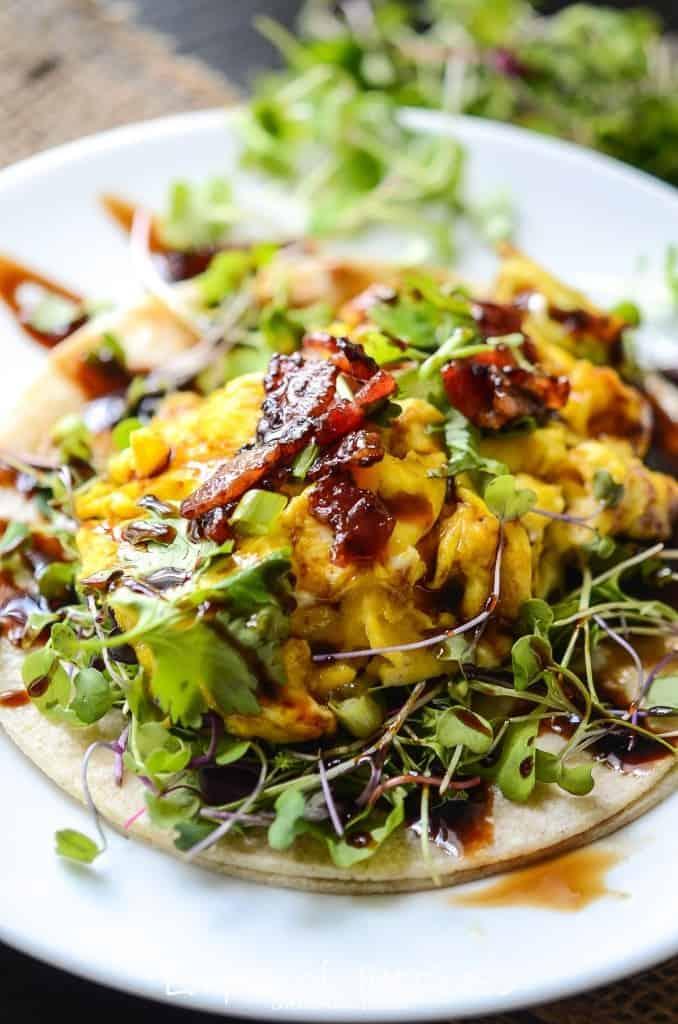 Farmers Market Breakfast Tacos
