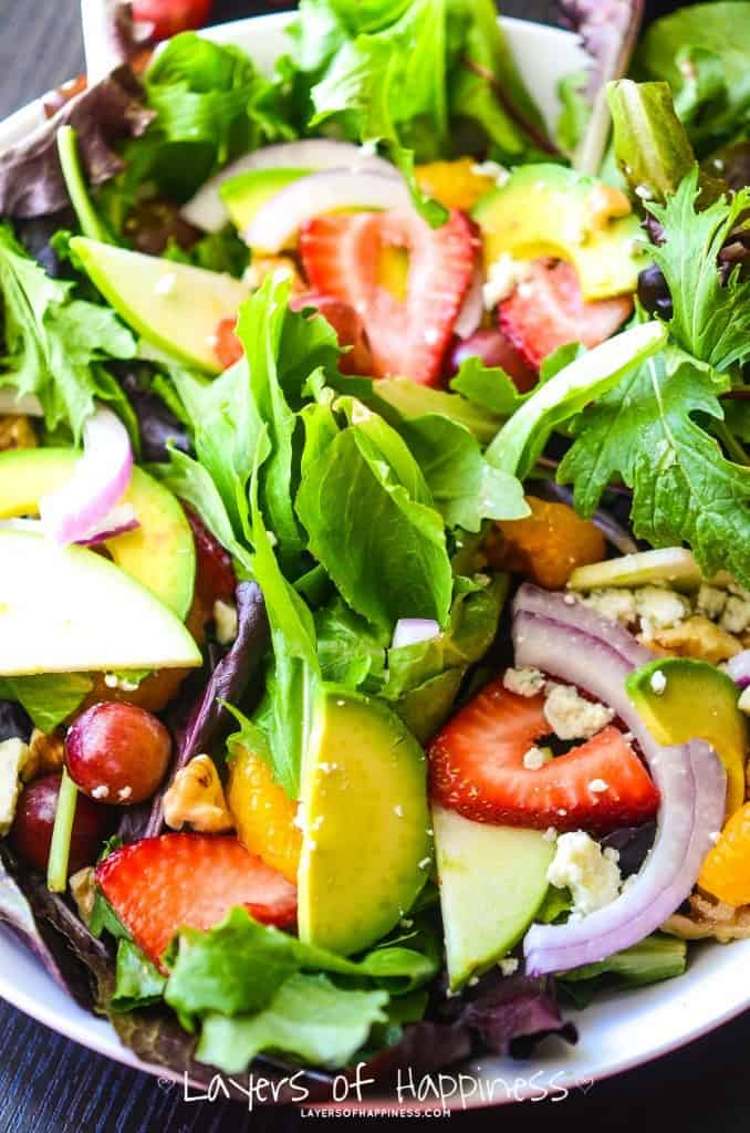 The Best Summer Chopped Salad Ever
