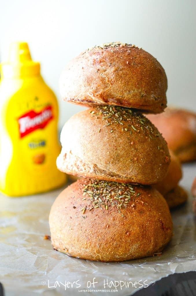 Tuscan Herb Sandwich Buns