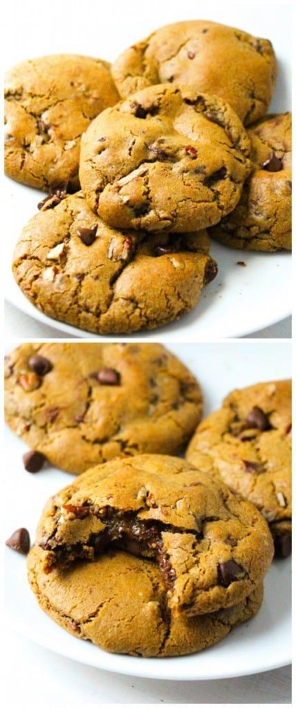 nutella-pumpkin-cookies