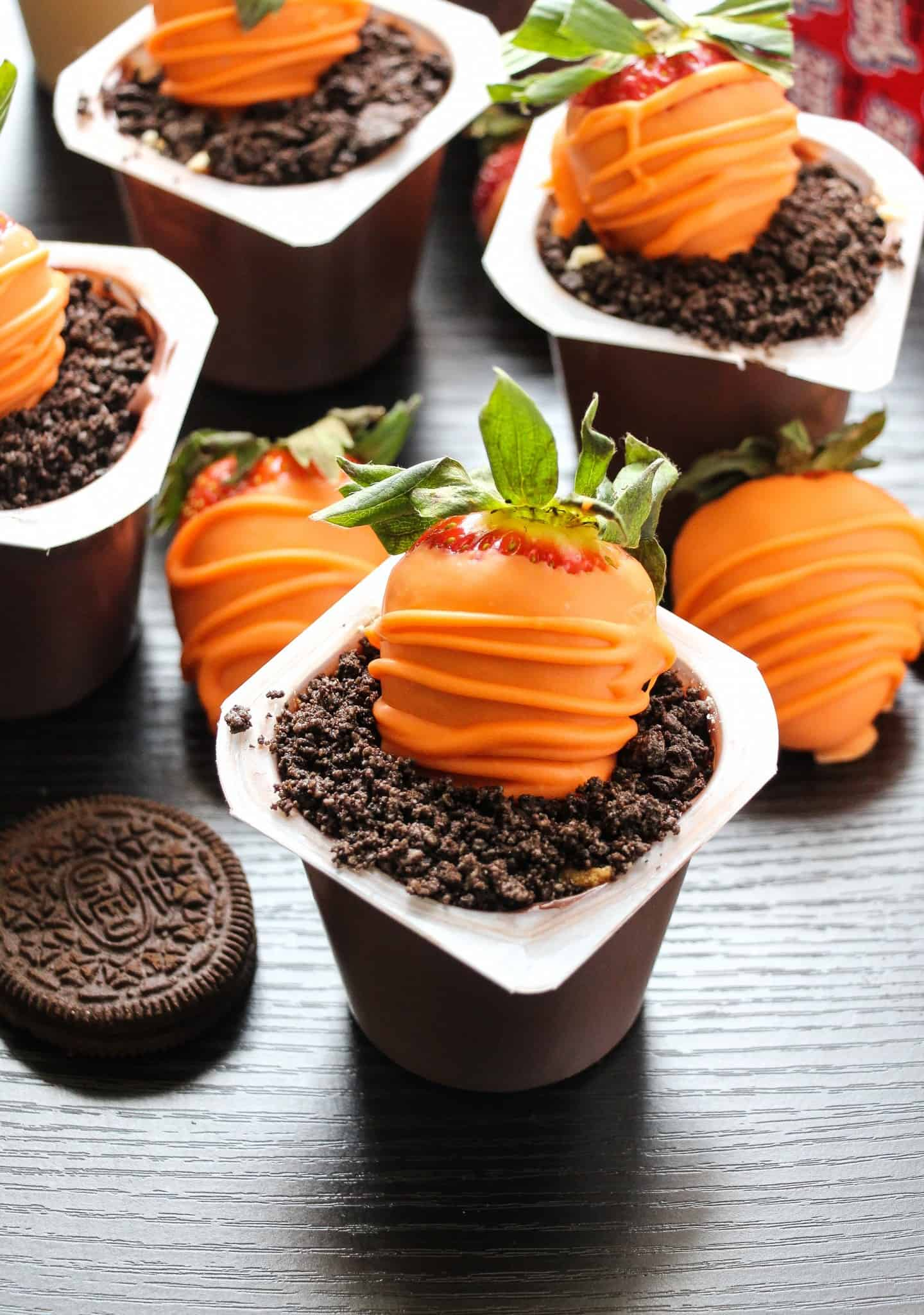 Easy Carrots Amp Dirt Pudding Cups Layers Of Happiness