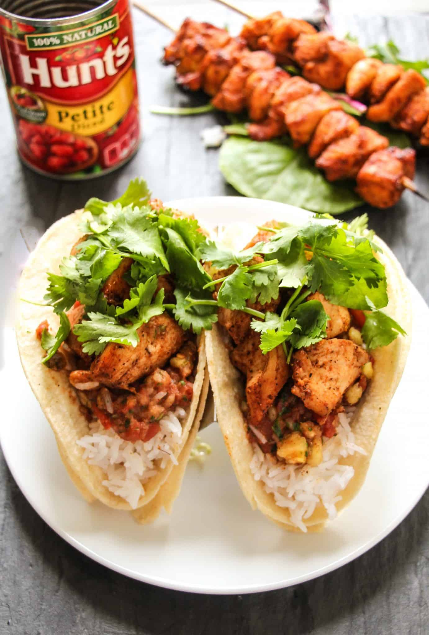 30 Minute Cajun Chicken Tacos With Sweet Amp Spicy Tomato Salsa Layers Of Happiness