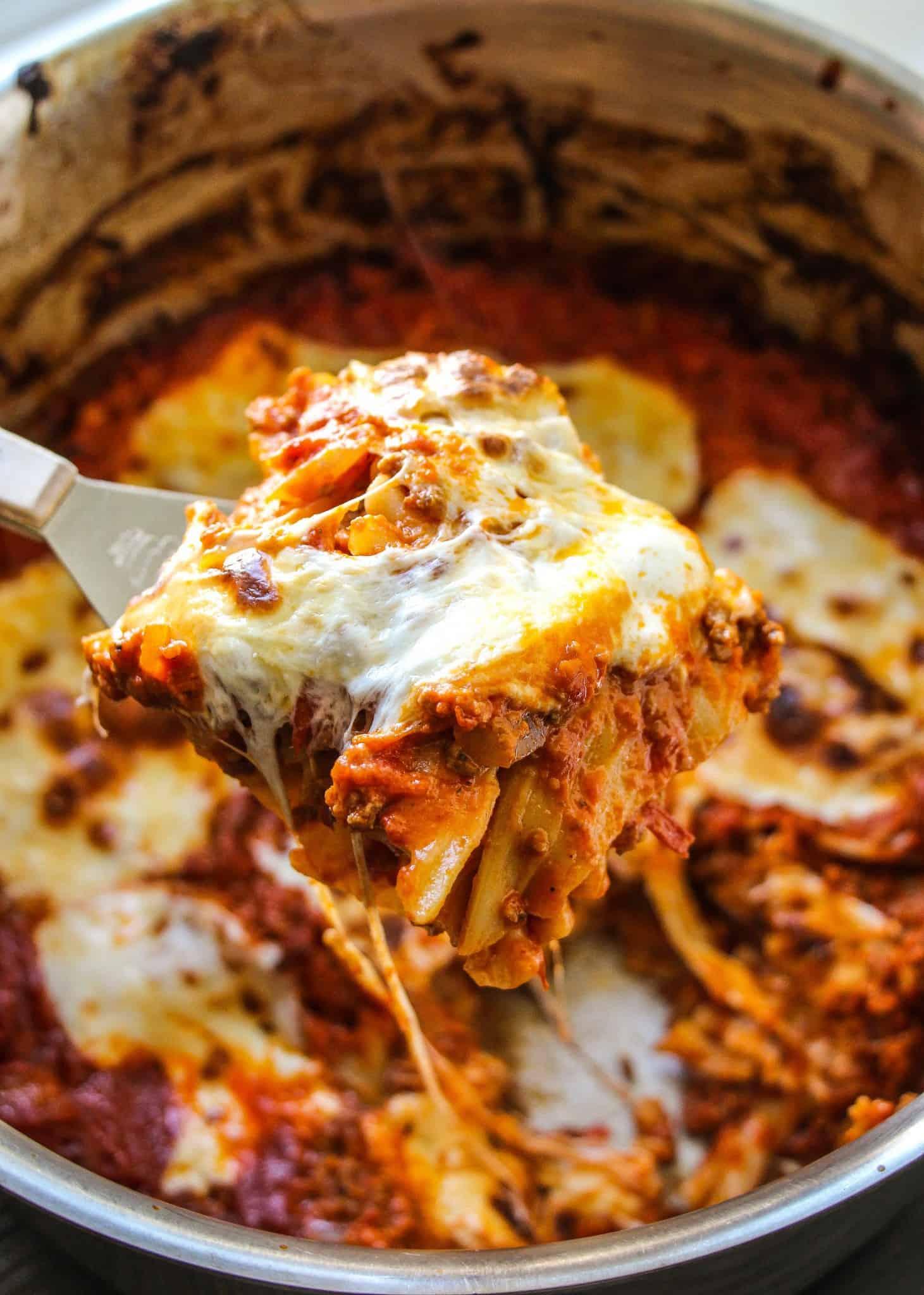 Lazy One Pot Lasagna