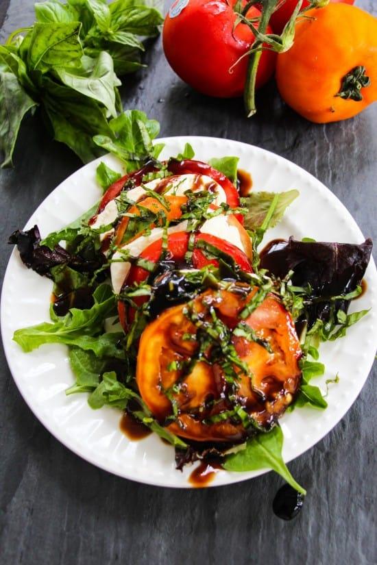 tomato caprese salad b