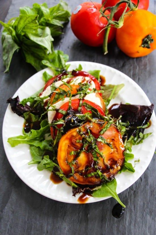 tomato caprese salad c