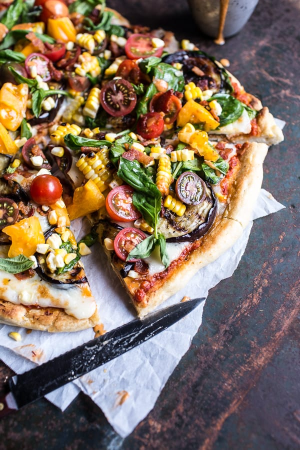 Summer-Garden-Pizza-with-Chipotle-Peach-and-Bacon-Dressing-2