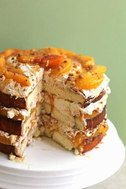 peach cobbler cake 5 copy