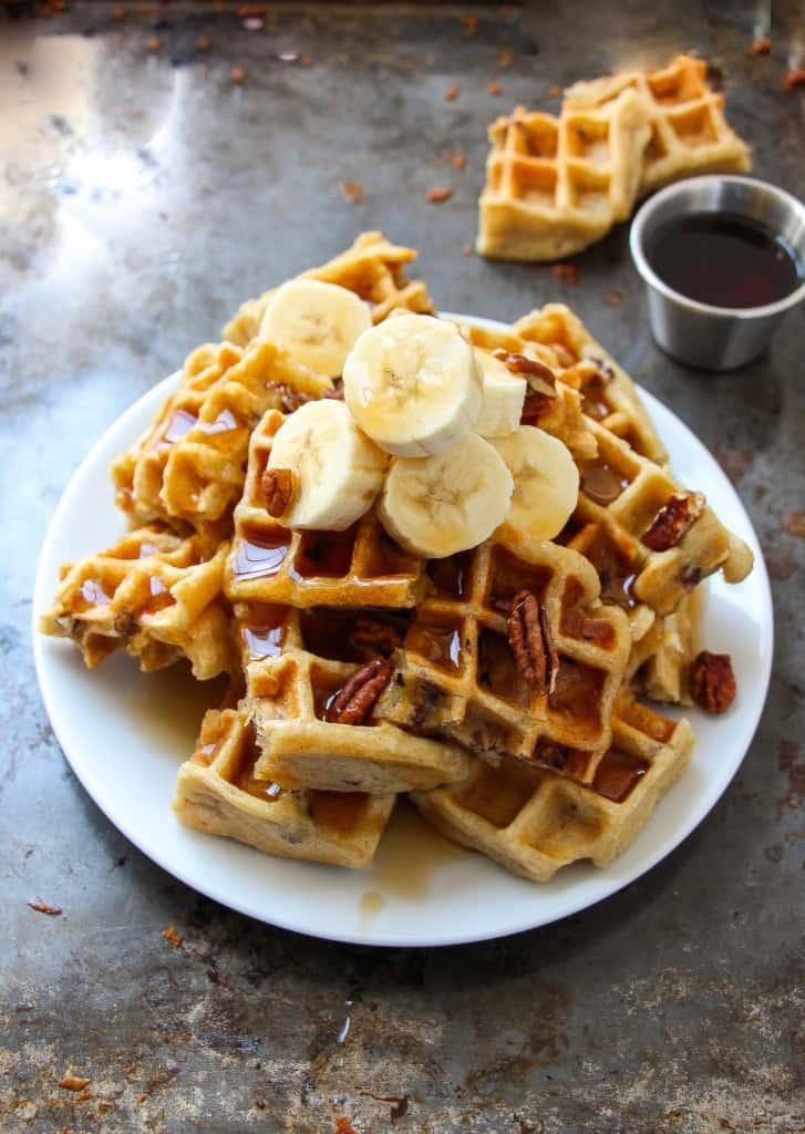 vegan-banana-pecan-waffles-3