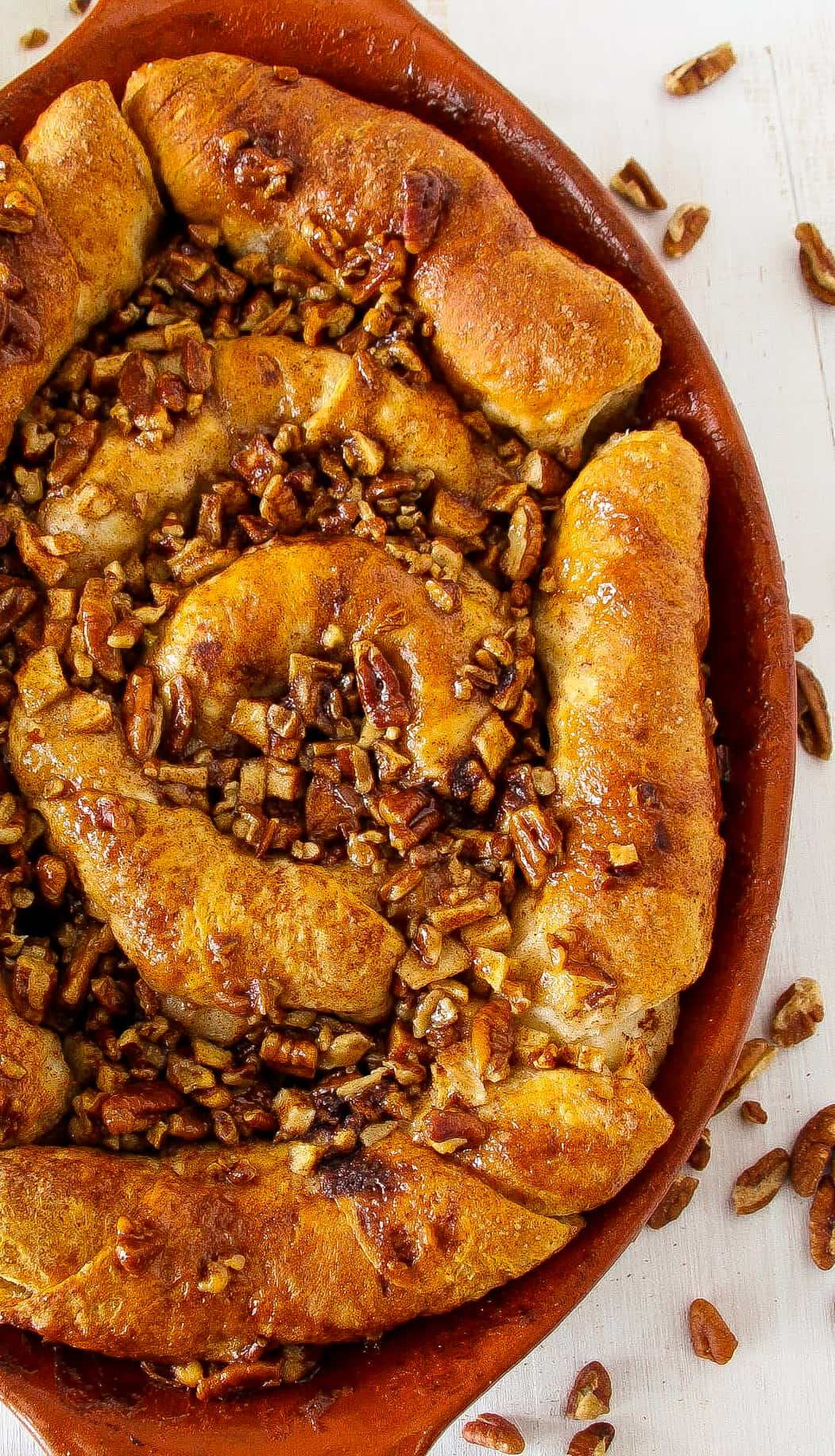 apple-pecan-sticky-bun-skillet-5