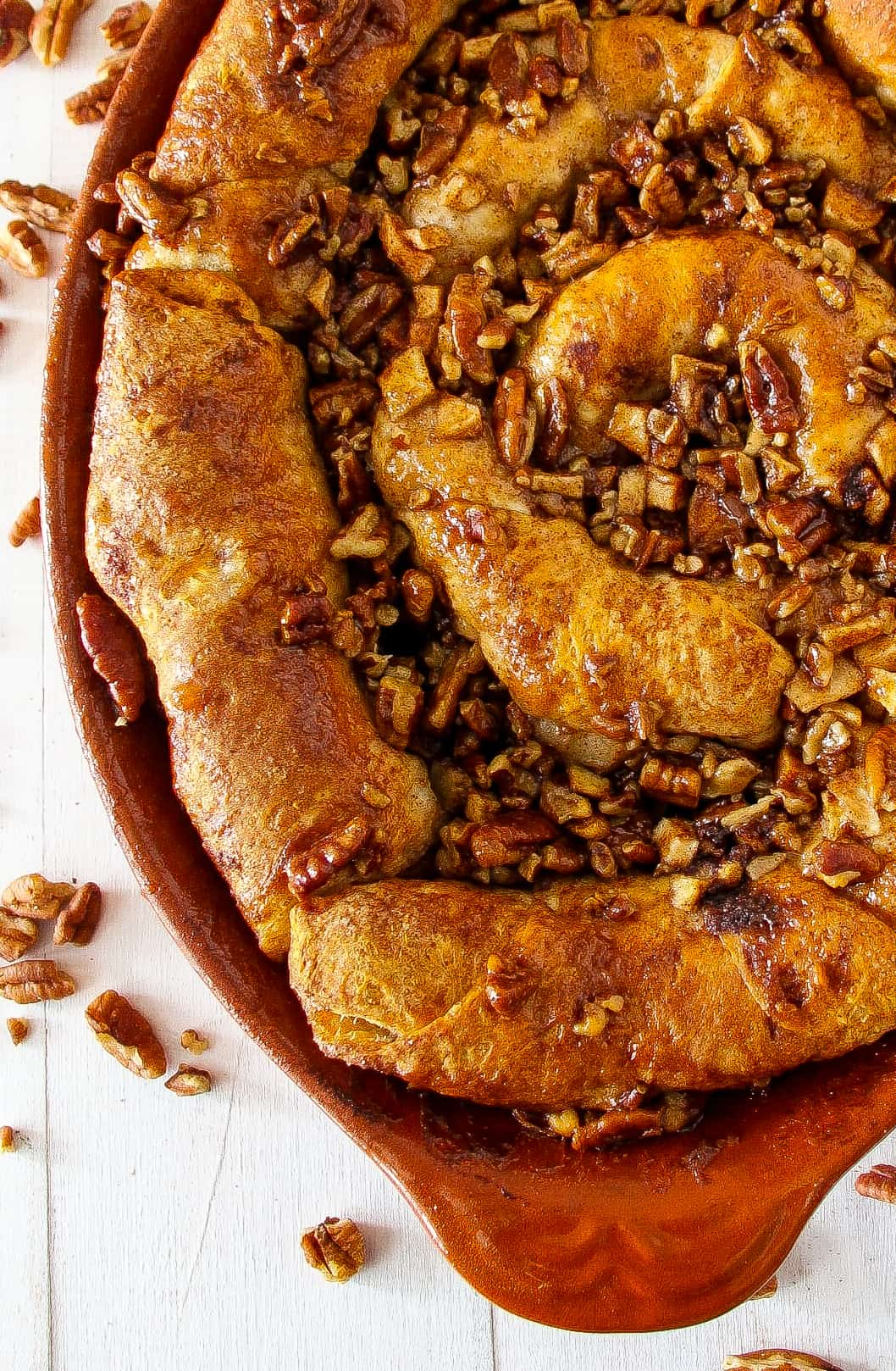 apple-pecan-sticky-bun-skillet-6