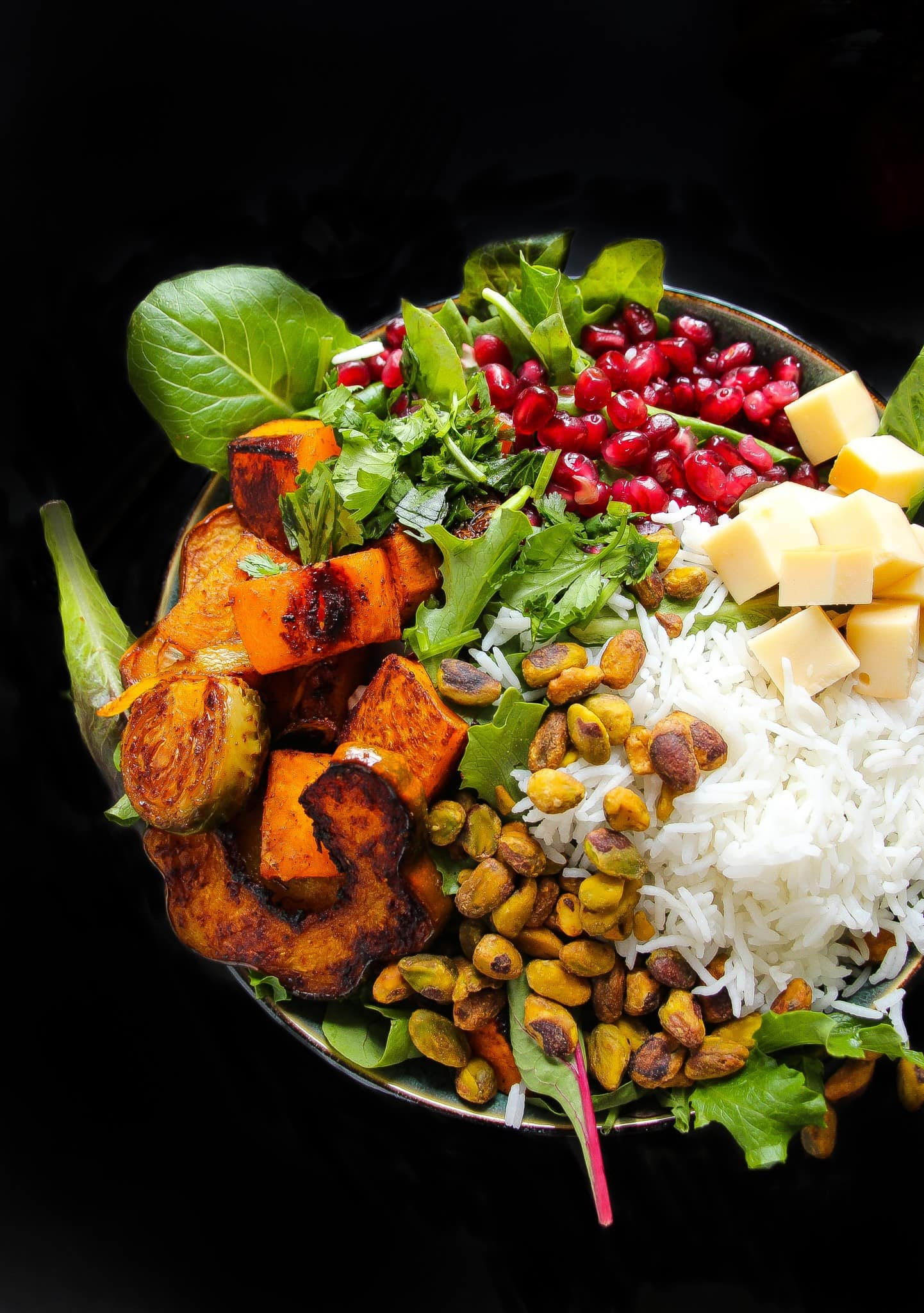 roasted-harvest-vegetable-pomegranate-bowls-2