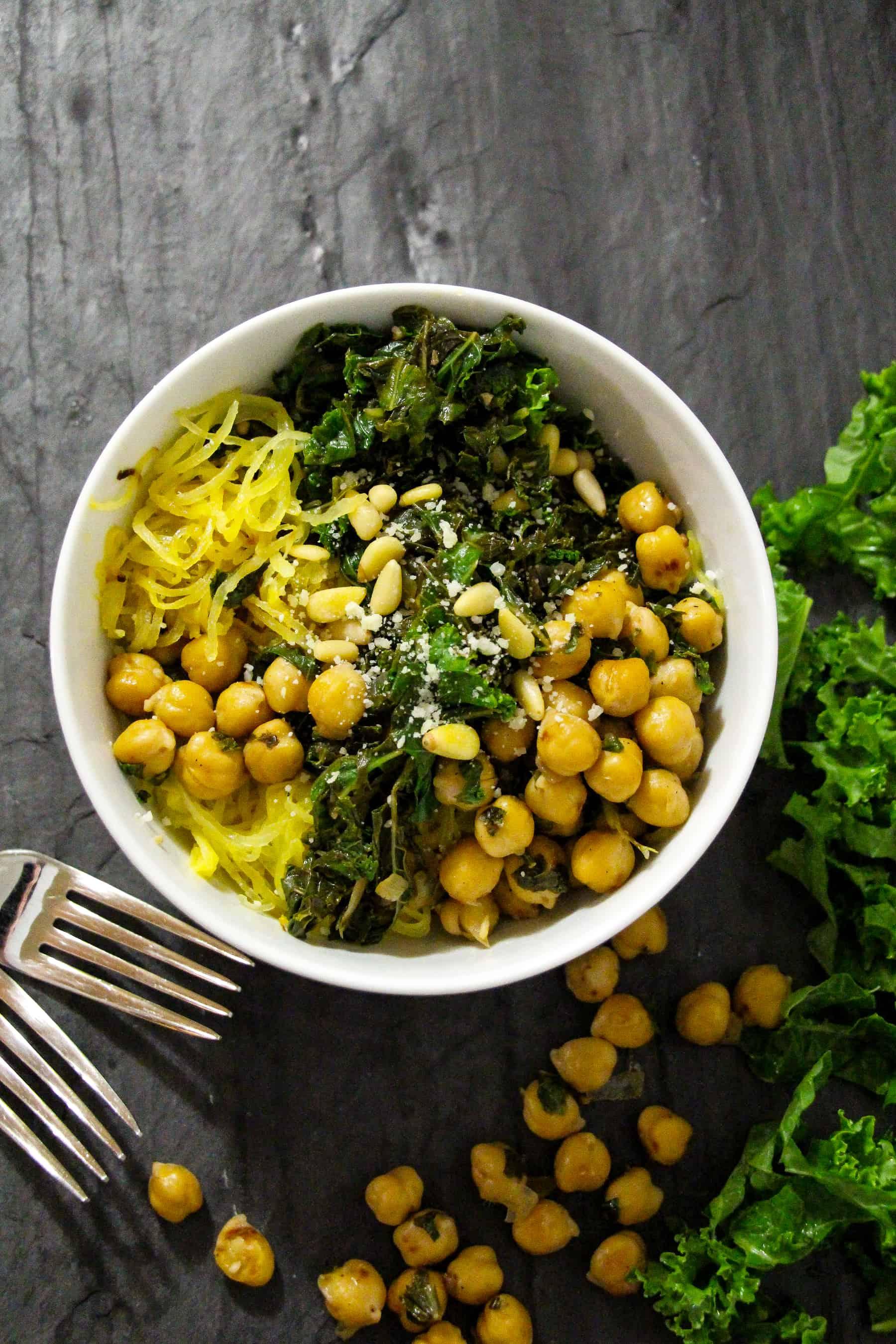 spaghetti-squash-parmesan-kale-2